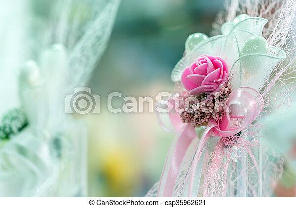 花, 結婚式 - csp35962621