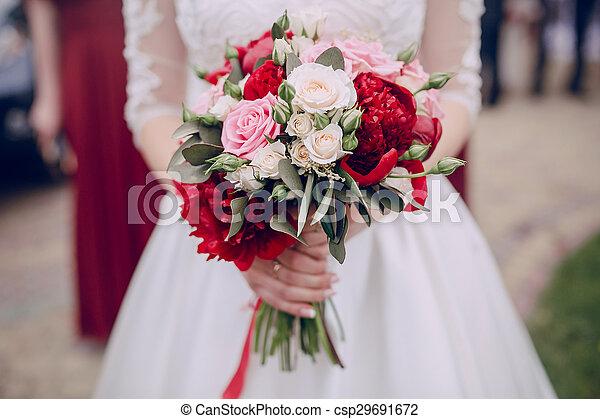 花, 結婚式 - csp29691672