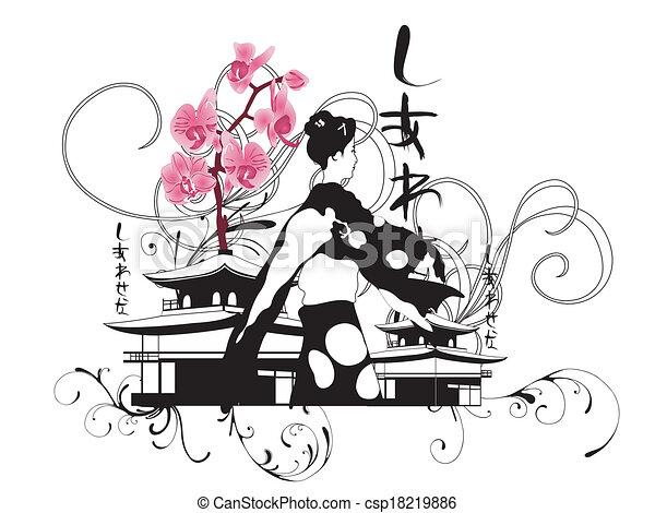 芸者 - csp18219886