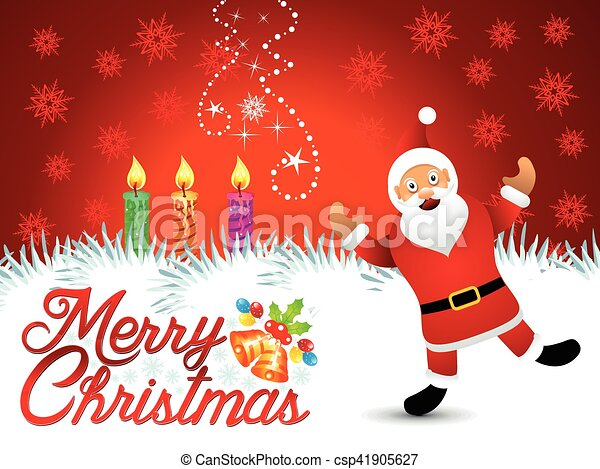 芸術的, クリスマス, 背景, 抽象的 - csp41905627