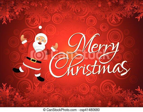 芸術的, クリスマス, 背景, 抽象的 - csp41480680