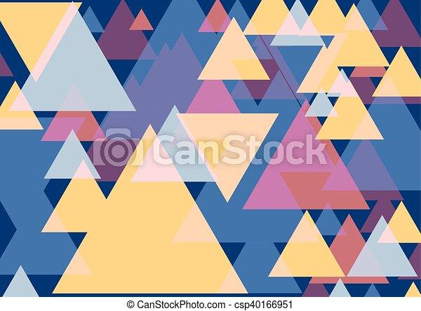 芸術, ポンとはじけなさい, 三角形 - csp40166951