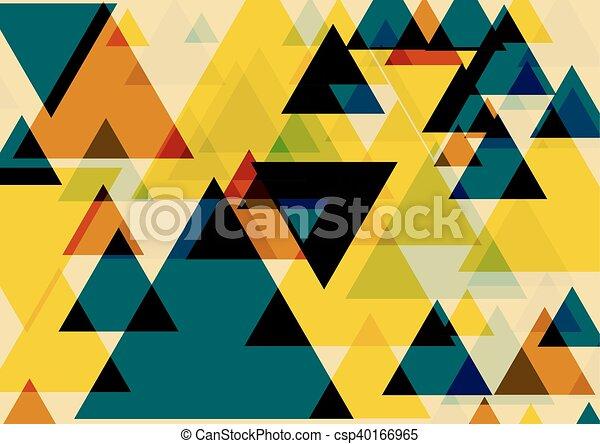 芸術, ポンとはじけなさい, 三角形 - csp40166965