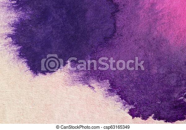 芸術, 抽象的, 手ざわり, 水彩画, 背景, グランジ, 背景 - csp63165349