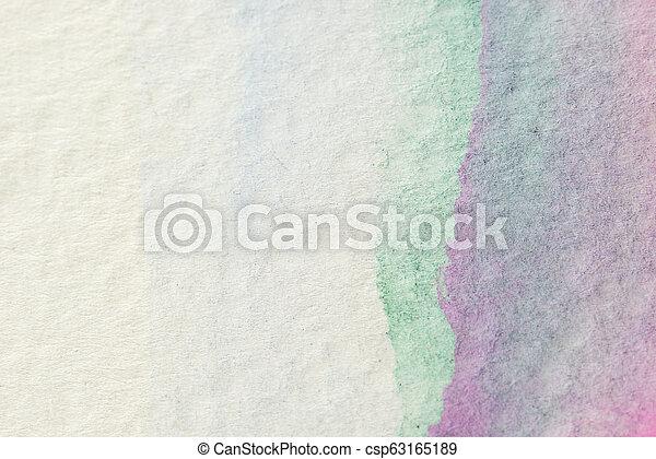 芸術, 抽象的, 手ざわり, 水彩画, 背景, グランジ, 背景 - csp63165189