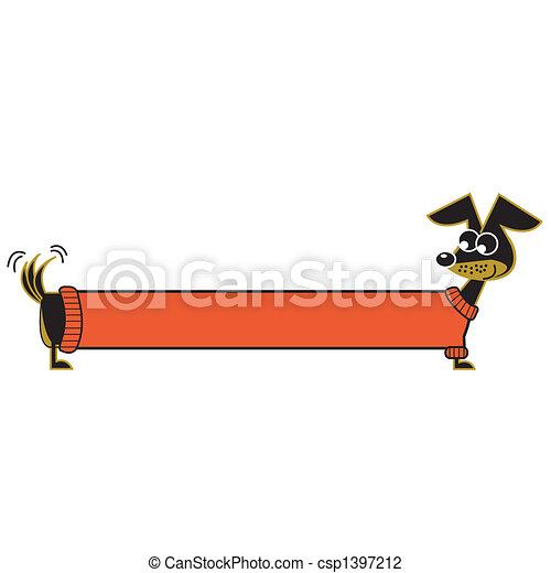 芸術, 犬, クリップ - csp1397212