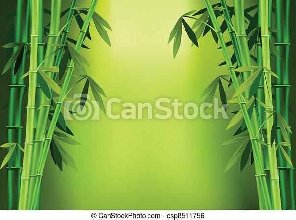 茎, 竹 - csp8511756