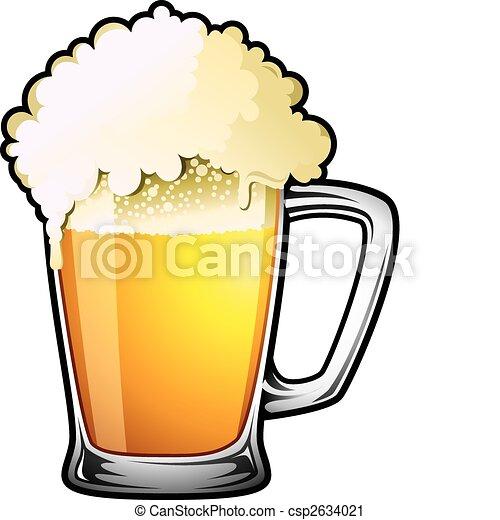 草案, ビール - csp2634021