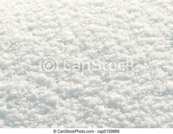 落ちている, 雪, 新たに - csp0159866
