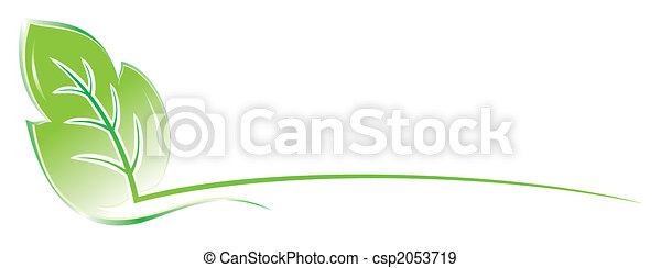 葉, デザイン - csp2053719