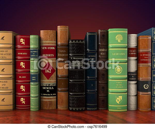 葡萄酒, 書, 第一流 - csp7616499