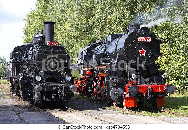 蒸気機関車 - csp4704593