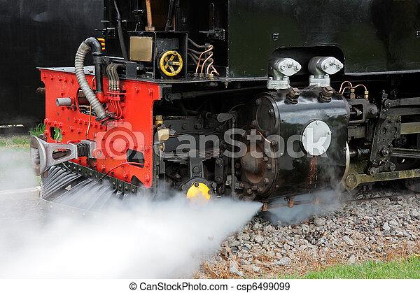 蒸気, 機関車 - csp6499099
