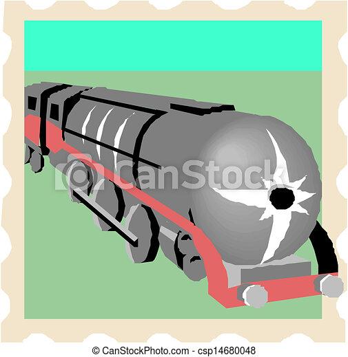 蒸気, 機関車 - csp14680048