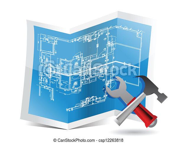 蓝图, 工具 - csp12263818