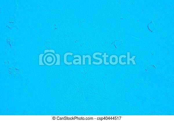 蓝的墙壁, 背景 - csp40444517