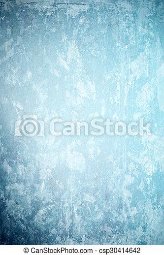 蓝的墙壁, 背景 - csp30414642