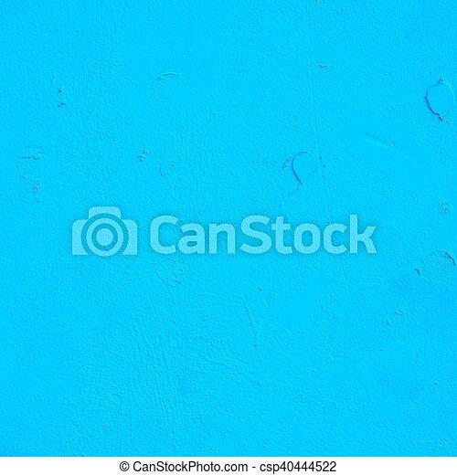 蓝的墙壁, 背景 - csp40444522