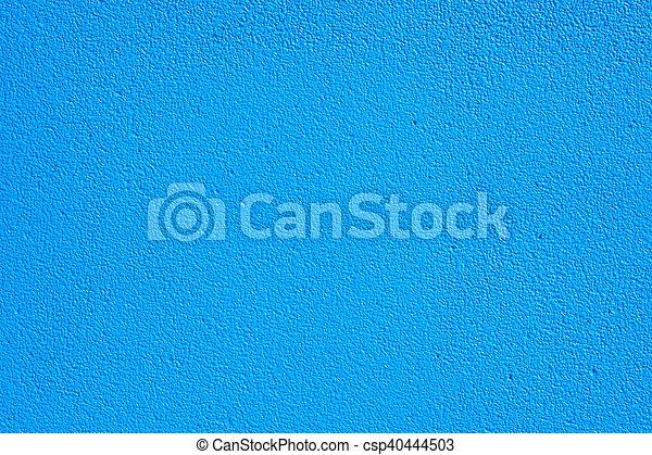 蓝的墙壁, 背景 - csp40444503