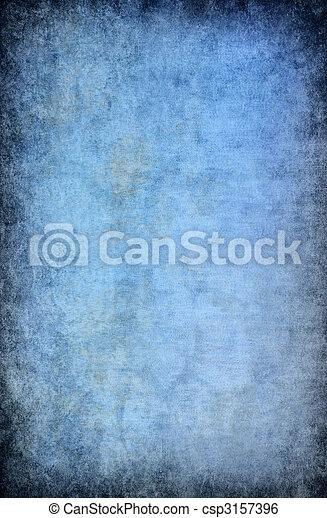 蓝色, 摘要, grunge, 背景 - csp3157396