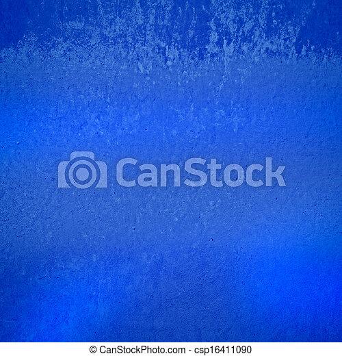 蓝色, 摘要, grunge, 背景 - csp16411090
