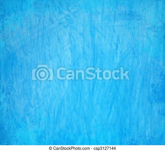 蓝色, 摘要, grunge, 背景 - csp3127144