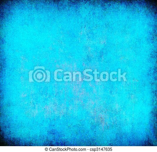 蓝色, 摘要, grunge, 背景, textured - csp3147635