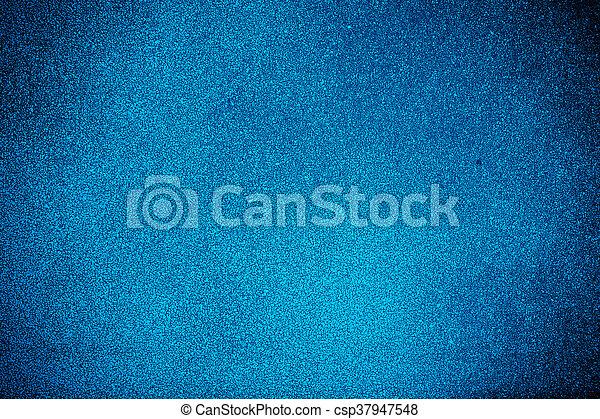 蓝色, 涂描, grunge, 墙壁 - csp37947548