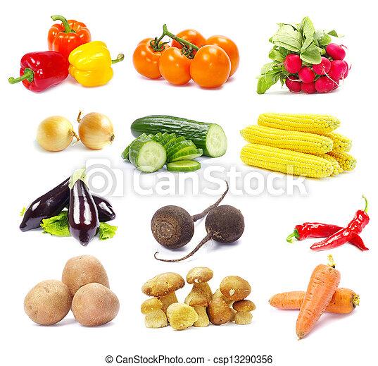 蔬菜, 彙整 - csp13290356