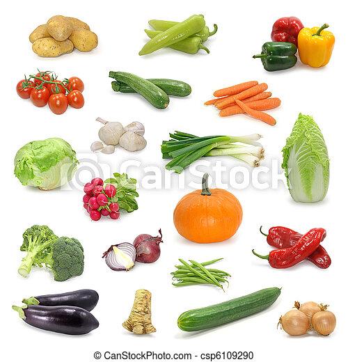 蔬菜, 彙整 - csp6109290