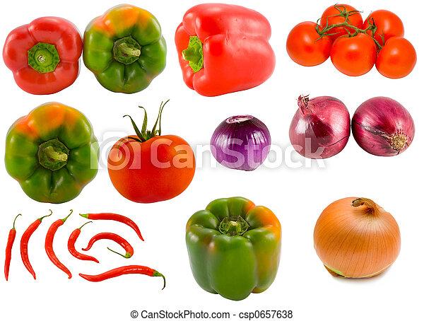 蔬菜, 收集 - csp0657638