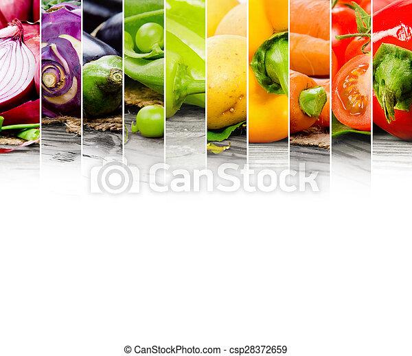 蔬菜, 混合 - csp28372659