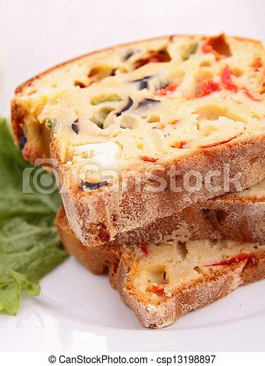 蔬菜, bread - csp13198897