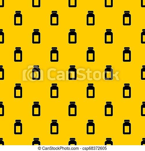 薬, パターン, ジャー - csp68372605