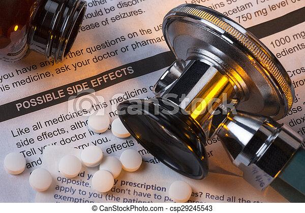 薬, 薬, -, 副作用 - csp29245543