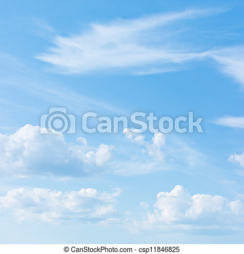 藍色的天空 - csp11846825