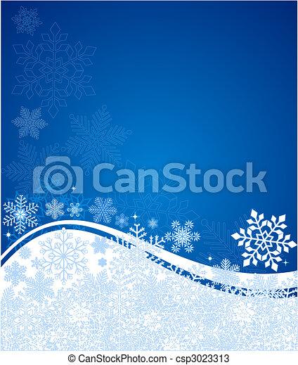 藍色的背景, 矢量, 摘要 - csp3023313