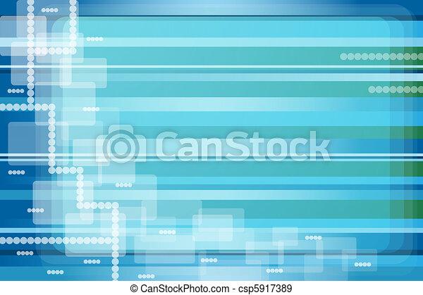 藍色, 摘要, 背景 - csp5917389