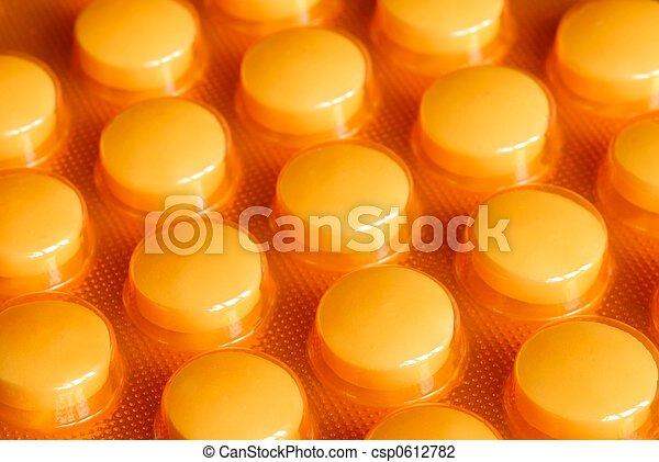 藥丸 - csp0612782