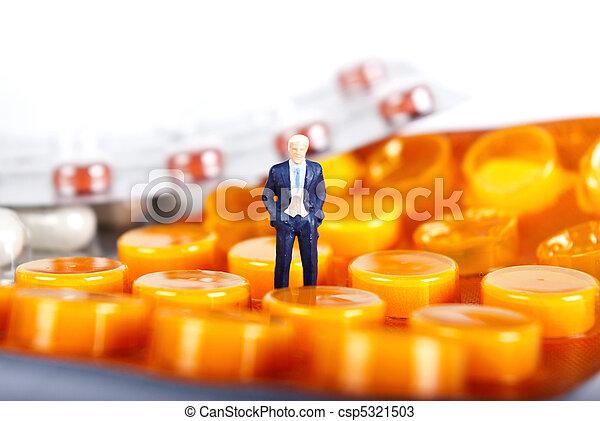 藥物, 工業, pils - csp5321503