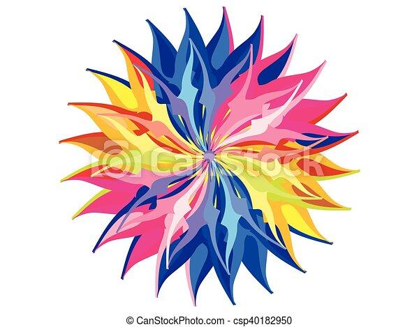 虹 抽象的 円 背景 芸術的 虹 抽象的 イラスト ベクトル 芸術的