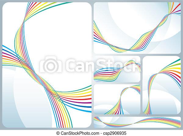 虹, 流れること - csp2906935