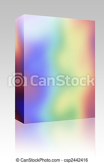 虹, 箱, 色, パッケージ - csp2442416