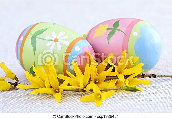 蛋, 復活節 - csp1326454