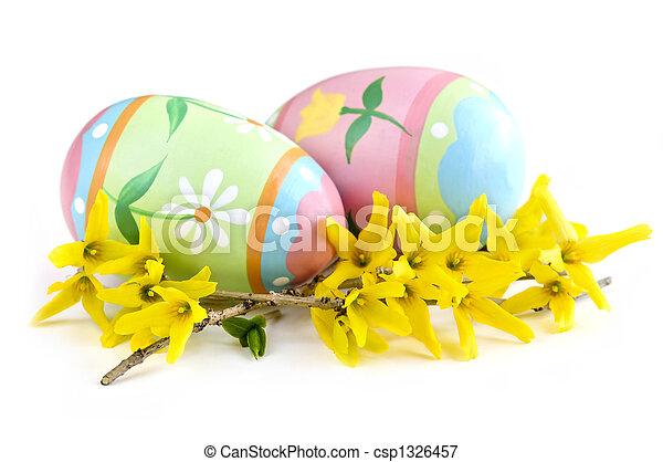 蛋, 復活節 - csp1326457