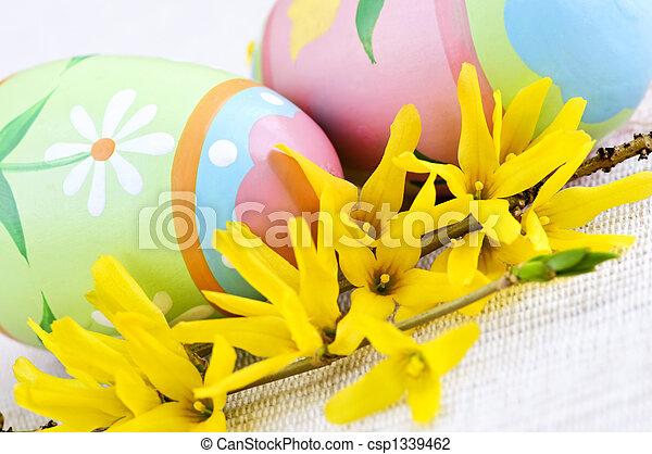 蛋, 復活節 - csp1339462