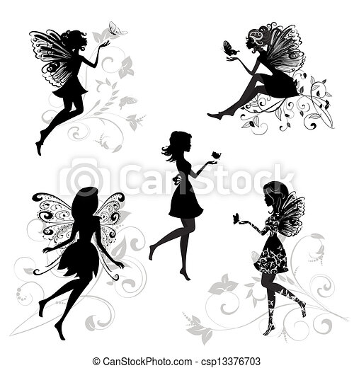 蝶 セット 妖精