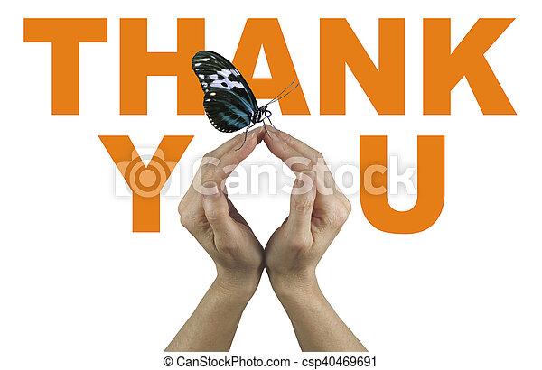 蝶, 発言, あなた, 感謝しなさい - csp40469691