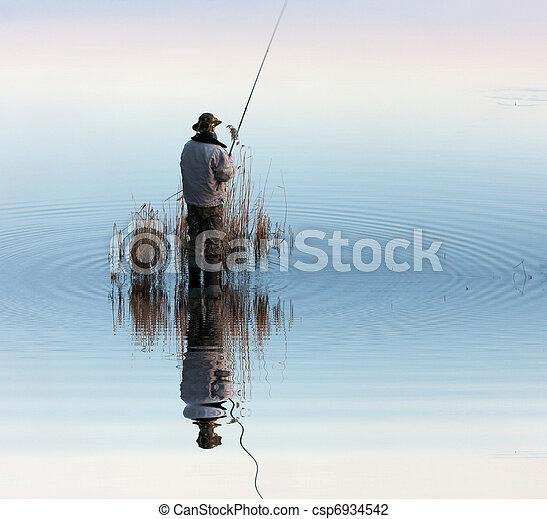 行動, 漁夫 - csp6934542