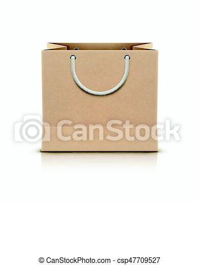 袋, ペーパー, 買い物 - csp47709527